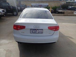 2012 Audi A4 B8 (8K) MY13 1.8 TFSI White Diamond CVT Multitronic Sedan