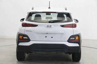 2020 Hyundai Kona Os.v4 MY21 Active 2WD White 8 Speed Constant Variable Wagon