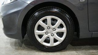 2012 Hyundai Accent RB Active Grey 4 Speed Sports Automatic Hatchback