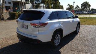 2016 Toyota Kluger GSU50R GX (4x2) White 6 Speed Automatic Wagon.