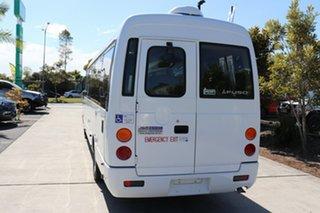 2011 Mitsubishi Rosa BE64D Deluxe White Automatic Midi Coach