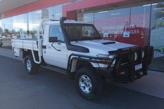 2016 Toyota Landcruiser VDJ79R GXL 5 Speed Manual Cab Chassis.