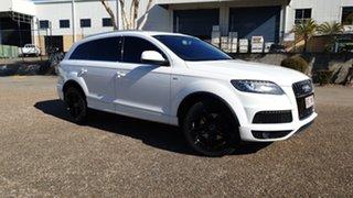 2014 Audi Q7 MY14 3.0 TDI Quattro White 8 Speed Automatic Tiptronic Wagon.
