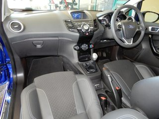 2013 Ford Fiesta WZ Sport Blue 5 Speed Manual Hatchback.