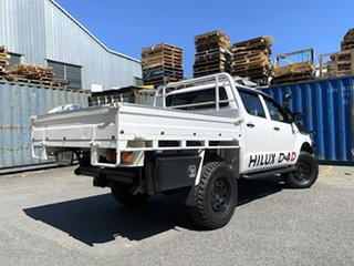 2012 Toyota Hilux KUN26R MY12 SR5 Double Cab White 5 Speed Manual Utility.