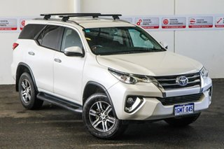 2018 Toyota Fortuner GUN156R MY18 GXL Crystal Pearl 6 Speed Automatic Wagon.
