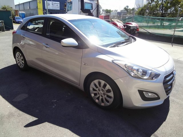 Used Hyundai i30 GD3 Series 2 Active Coopers Plains, 2015 Hyundai i30 GD3 Series 2 Active Silver 6 Speed Automatic Hatchback