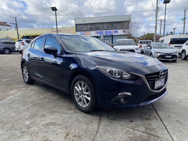 Pre-Owned Mazda 3 BM5478 Maxx SKYACTIV-Drive Preston, 2014 Mazda 3 BM5478 Maxx SKYACTIV-Drive Blue 6 Speed Sports Automatic Hatchback