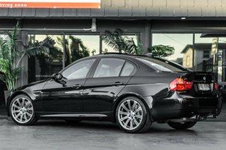 2010 BMW M3 E90 MY11 M-DCT Black 7 Speed Sports Automatic Dual Clutch Sedan.