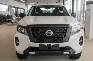 2021 Nissan Navara D23 MY21 SL King Cab Polar White 7 Speed Sports Automatic Cab Chassis.