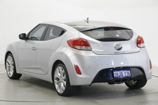 2012 Hyundai Veloster FS Coupe D-CT Silver 6 Speed Sports Automatic Dual Clutch Hatchback.