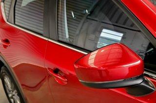 2017 Mazda CX-5 KF4WLA Maxx SKYACTIV-Drive i-ACTIV AWD Sport Red 6 Speed Sports Automatic Wagon.