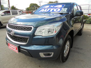 2014 Holden Colorado RG MY14 LT Crew Cab Blue 6 Speed Sports Automatic Utility.