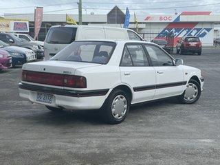 1993 Mazda 323 BG10P2 White 4 Speed Automatic Sedan