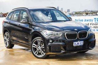 2016 BMW X1 F48 xDrive25i Steptronic AWD Black 8 Speed Sports Automatic Wagon.