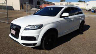 2014 Audi Q7 MY14 3.0 TDI Quattro White 8 Speed Automatic Tiptronic Wagon