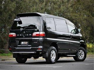 2006 Mitsubishi Delica PD6W Spacegear Black 4 Speed Automatic Van Wagon