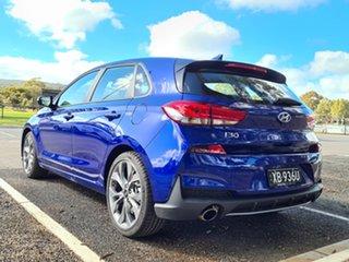 2021 Hyundai i30 PD.V4 MY21 N Line D-CT Intense Blue 7 Speed Sports Automatic Dual Clutch Hatchback