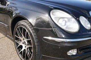 2004 Mercedes-Benz E320 211 Avantgarde Black 5 Speed Auto Touchshift Sedan.