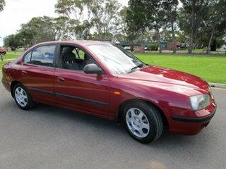 2003 Hyundai Elantra XD GL Maroon 5 Speed Manual Sedan.