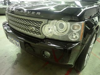 2008 Land Rover Range Rover MY08 Vogue TDV8 Black Crystal 6 Speed Auto Sequential Wagon