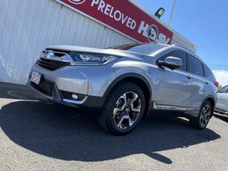 2018 Honda CR-V RW MY18 VTi-S 4WD Silver 1 Speed Constant Variable Wagon.