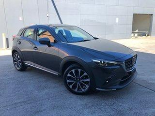 2021 Mazda CX-3 DK2W7A Akari SKYACTIV-Drive FWD Machine Grey 6 Speed Sports Automatic Wagon.