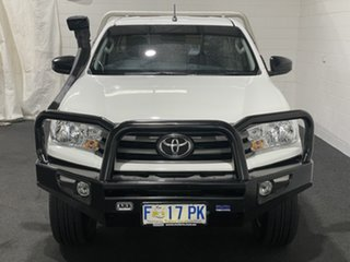2017 Toyota Hilux GUN126R SR White 6 Speed Manual Cab Chassis