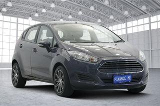 2014 Ford Fiesta WZ MY15 Ambiente Blue 5 Speed Manual Hatchback.