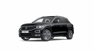 2021 Volkswagen T-ROC A1 140TSI Sport Deep Black Pearl Effect 7 Speed Semi Auto SUV.