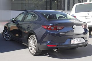 2021 Mazda 3 BP2S7A G20 SKYACTIV-Drive Evolve Deep Crystal Blue 6 Speed Sports Automatic Sedan.