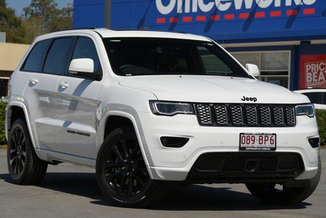 Used Jeep Grand Cherokee WK MY21 Night Eagle Aspley, 2021 Jeep Grand Cherokee WK MY21 Night Eagle White 8 Speed Sports Automatic Wagon