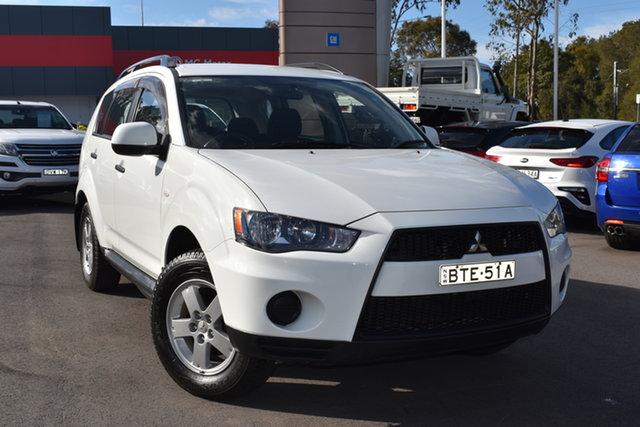 Used Mitsubishi Outlander ZH MY11 LS 2WD Tuggerah, 2010 Mitsubishi Outlander ZH MY11 LS 2WD White 5 Speed Manual Wagon