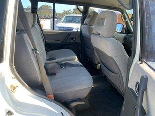 1998 Mitsubishi Pajero NL GLS LWB (4x4) White 4 Speed Automatic 4x4 Wagon