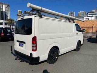 2013 Toyota HiAce TRH201R MY12 Upgrade LWB White 5 Speed Manual Van