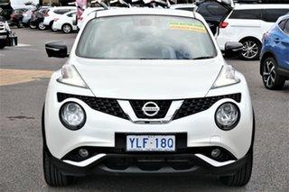 2015 Nissan Juke F15 Series 2 N-SPORT X-tronic AWD Special Edition Ivory Pearl 1 Speed.