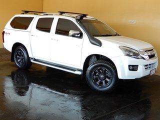 2015 Isuzu D-MAX TF MY15 LS-Terrain HI-Ride (4x4) White 5 Speed Manual Crew Cab Utility.