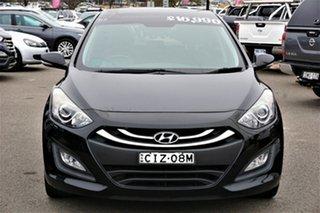 2012 Hyundai i30 GD Premium Black 6 Speed Sports Automatic Hatchback.