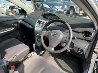 2007 Toyota Yaris NCP93R YRX Silver 4 Speed Automatic Sedan
