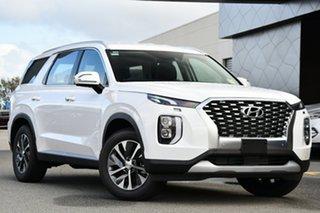 2021 Hyundai Palisade LX2.V1 MY21 2WD White Cream 8 Speed Automatic Wagon.