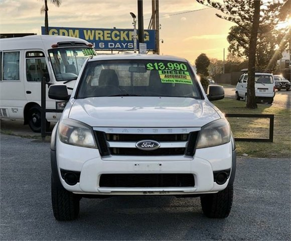 Used Ford Ranger PK XL Archerfield, 2009 Ford Ranger PK XL White 5 Speed Automatic Utility