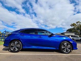 2018 Honda Civic 10th Gen MY18 VTi-L Blue 1 Speed Constant Variable Hatchback.