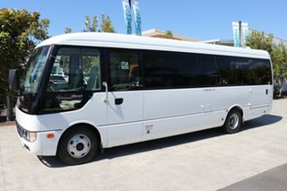 2011 Mitsubishi Rosa BE64D Deluxe White Automatic Midi Coach.