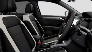 2021 Volkswagen T-ROC A1 140TSI Sport Deep Black Pearl Effect 7 Speed Semi Auto SUV