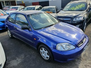 2000 Honda Civic EK CXi Blue 4 Speed Automatic Hatchback