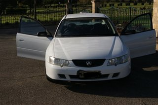 2004 Holden Commodore VY II S White 4 Speed Automatic Utility