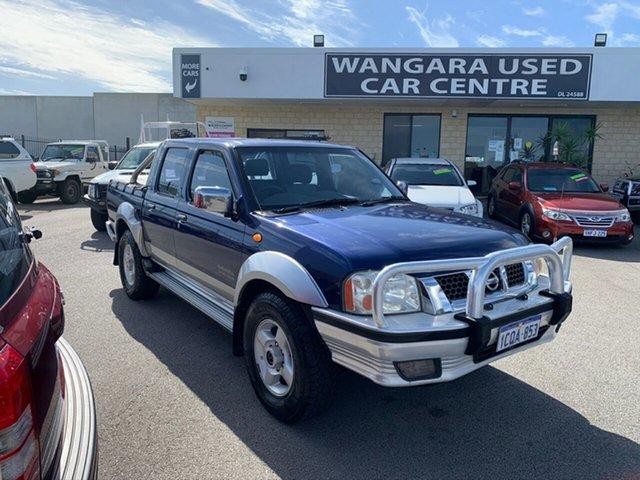 Used Nissan Navara D22 ST-R (4x4) Wangara, 2005 Nissan Navara D22 ST-R (4x4) Blue 5 Speed Manual Dual Cab Pick-up