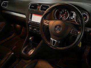 2012 Volkswagen Golf VI MY13 118TSI DSG White 7 Speed Sports Automatic Dual Clutch Cabriolet