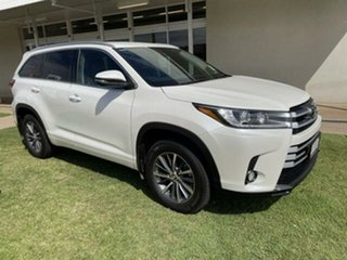 2019 Toyota Kluger GSU50R GXL (4x2) White 8 Speed Automatic Wagon.
