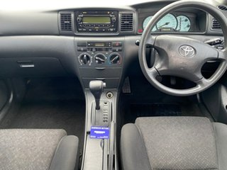 2005 Toyota Corolla ZZE122R 5Y Ascent White 4 Speed Automatic Wagon